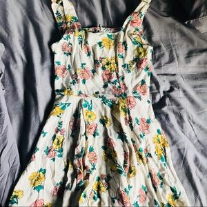 Never wore floral dress